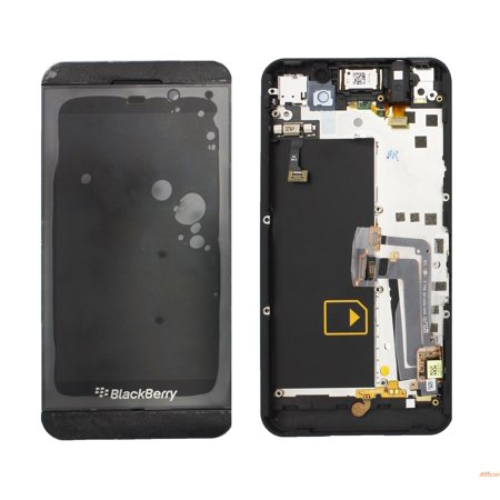 LCD / Digitizer Assembly Frame Replacement Part 4G Version Compatible with  Blackberry Z10 - Black