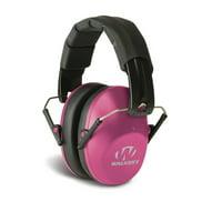 Walkers GWPFPM1PNK Pro Low Profile Folding Muff Earmuff 22 dB Pink