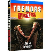 Tremors Attack Pack Collection: Tremors / Tremors 2: Aftershocks / Tremors 3: Back To Perfection / Tremors 4: The Legend Begins (Blu-ray)