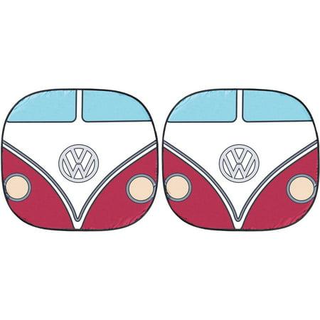 Volkswagen Classic Bus Magic 28.5x31.5 Sunshade, 2-Piece - Magic Stick Shade