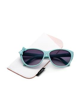 Kyra Plastic Polka Dot Bow Fashion Sunglasses for Kids