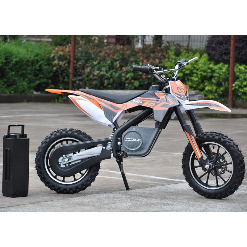 MotoTec Dirt Bike Motorcycle Battery Powered Riding Toy by Big Toys