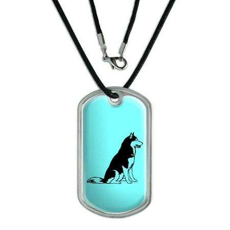 Siberian Husky Dog Tag