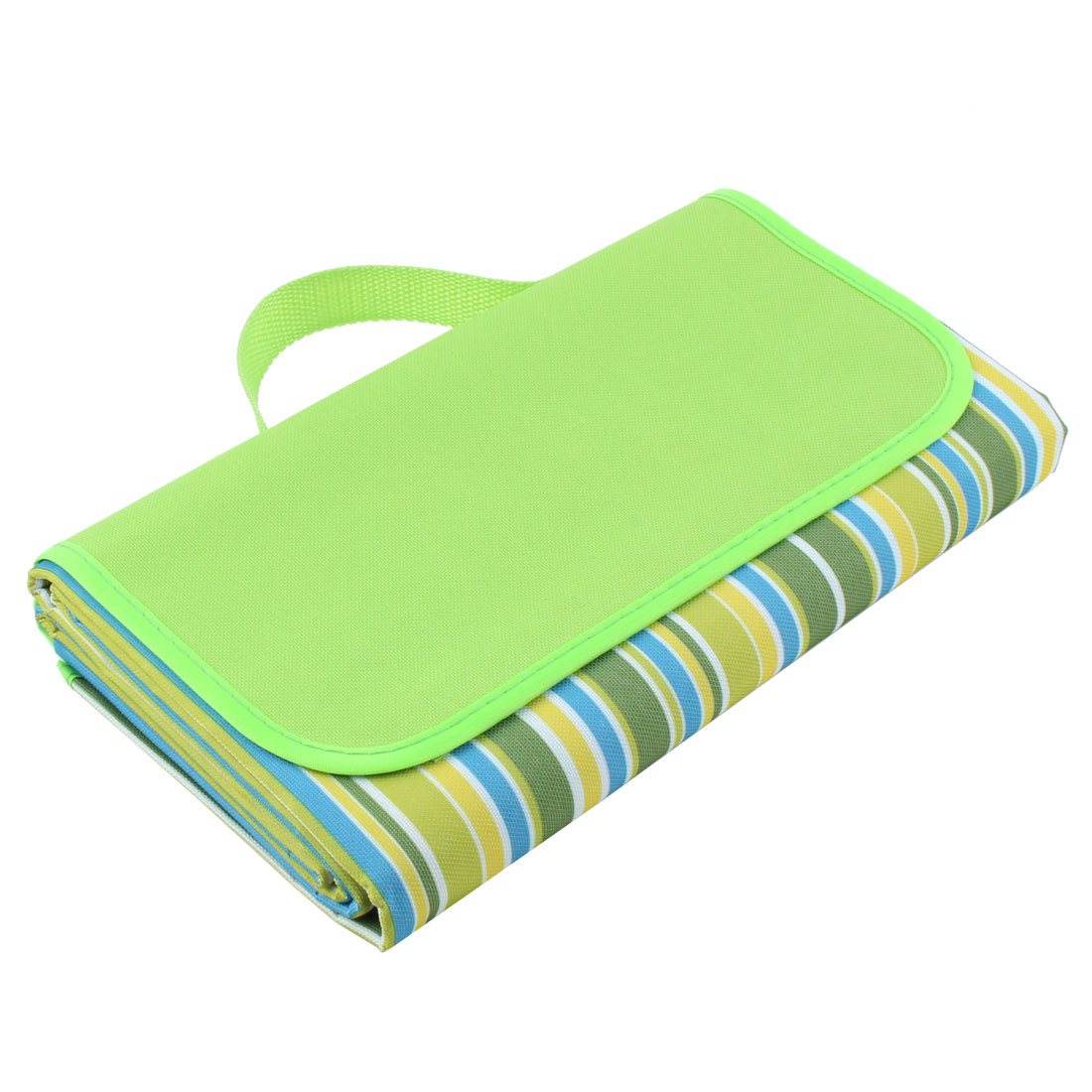 Hiking Foldable Picnic Mat Camping Blanket Travel Rug Light Green 200cm x 200cm