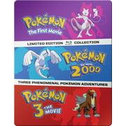 Pokemon: The First Three Movies (Blu-ray)
