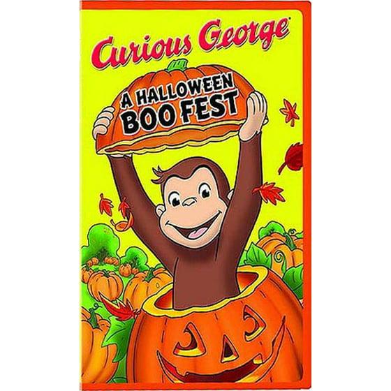 curious george a halloween boo fest dvd walmartcom