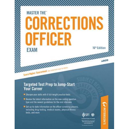 Master the Corrections Officer Exam : Chapter 8 of