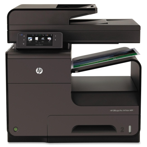 Hewlett Packard Officejet Pro X476DN Multifunction Printer Copier Fax Printer Scanner, REFURBISHED HEWCN460AREFB by HP