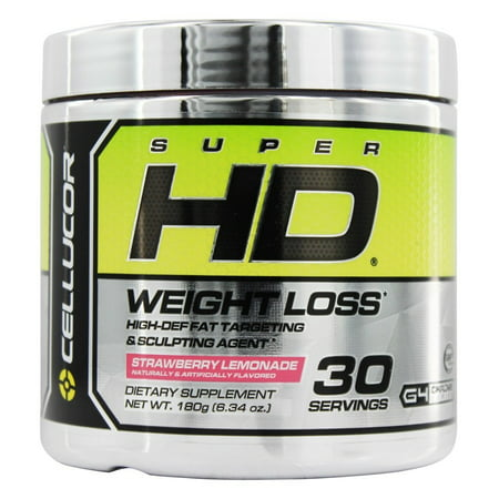 Cellucor - Super HD Weight Loss Strawberry Lemonade 30 Servings - 180