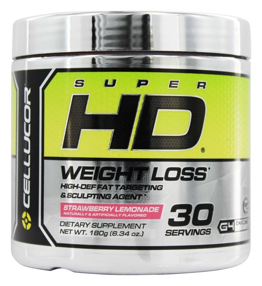 Cellucor - Super HD Weight Loss Strawberry Lemonade 30 Servings - 180 Grams