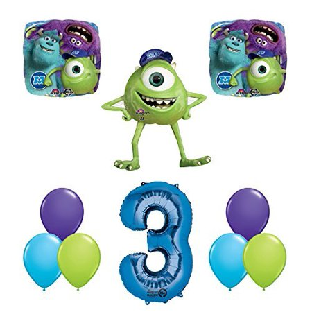 The Ultimate Monsters University Monsters Inc 3rd Birthday Party Supplies - Monster High Birthday Theme