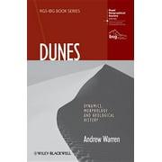 Rgs-Ibg Book: Dunes : Dynamics, Morphology, History (Hardcover)