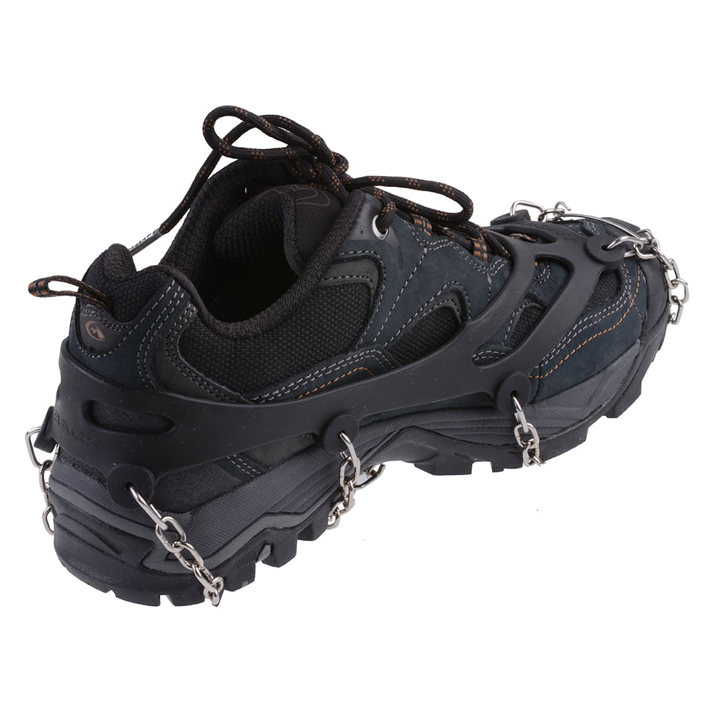 AGPtEK Anti-slip Overshoes Snowshoe Crampon Cleats with Chains by AGPtek
