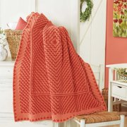 Herrschners  Coral Echoes Crochet Afghan Kit