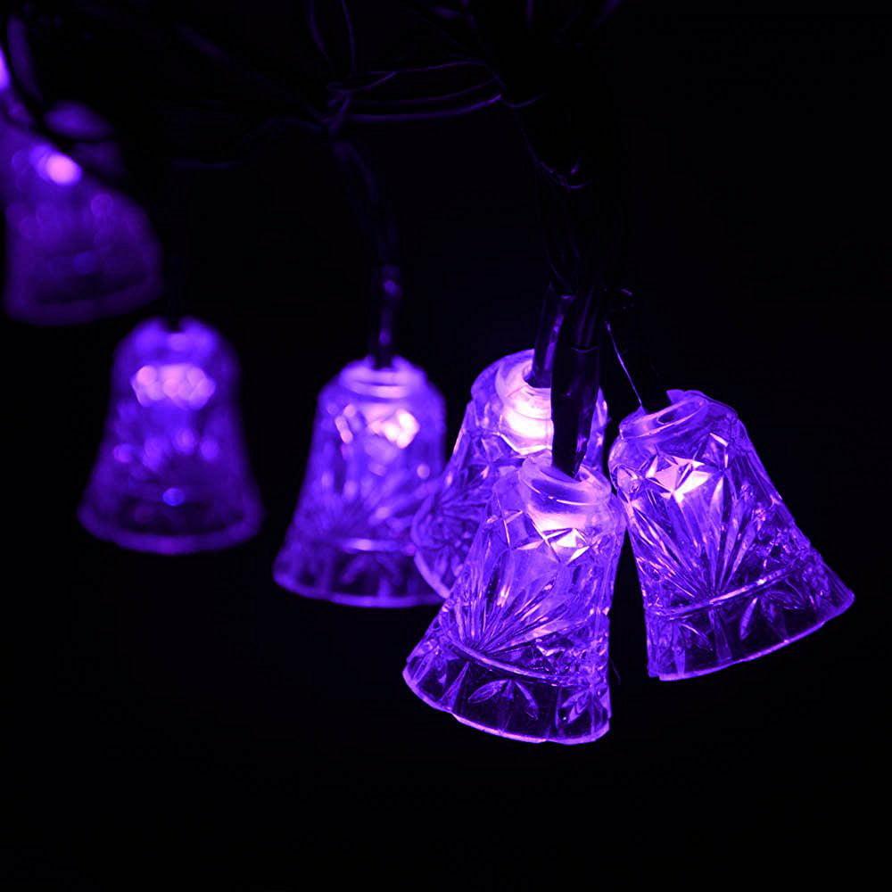 Purple Solar Lights