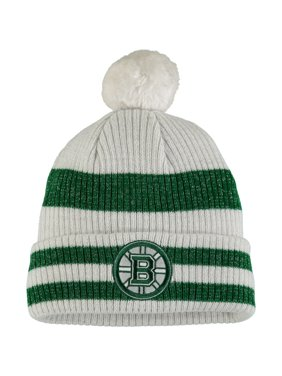 45ed9088392 Product Image Boston Bruins Old Time Hockey Women s St. Patrick s Day Eveny Cuffed  Knit Hat - Charcoal