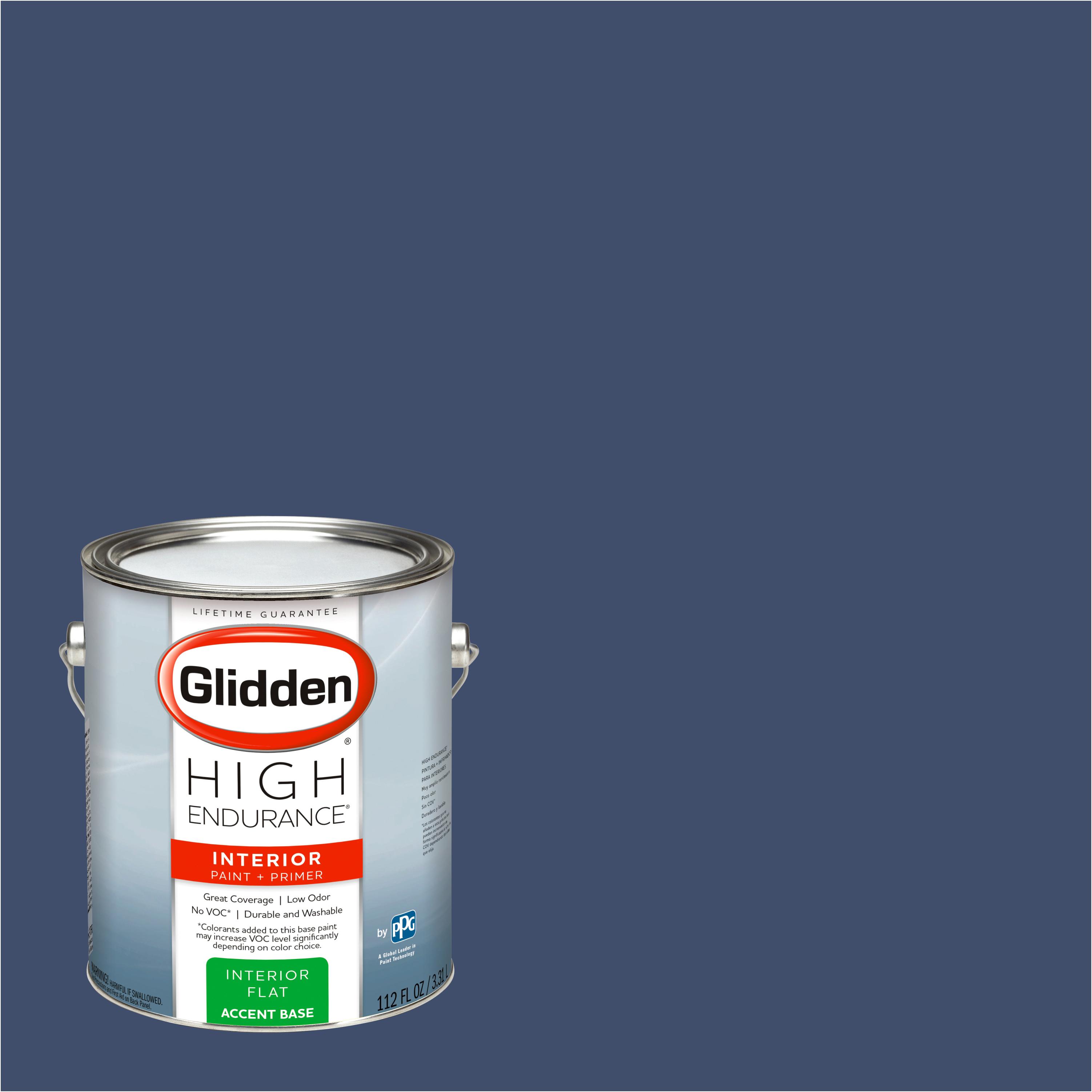 Glidden High Endurance, Interior Paint and Primer, Rich Navy, #50BB 08/171