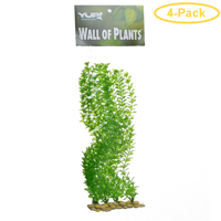 Yup Aquarium Decor Wall of Plants - Anacharis 1 Pack - Pack of 4