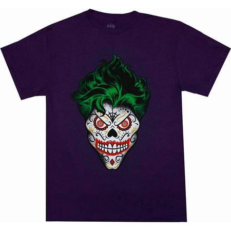 The Joker Suit (The Joker Sugar Skull Design Purple)