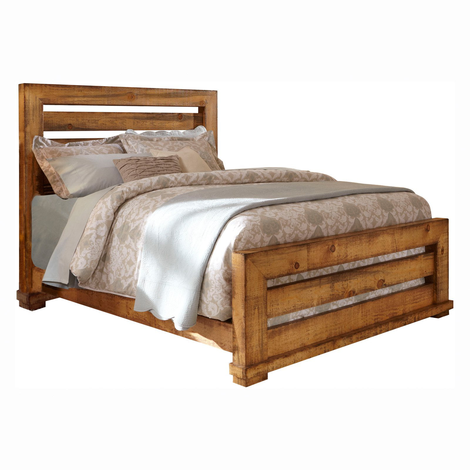 Progressive Furniture Willow Slat Panel Bed   Walmart.com