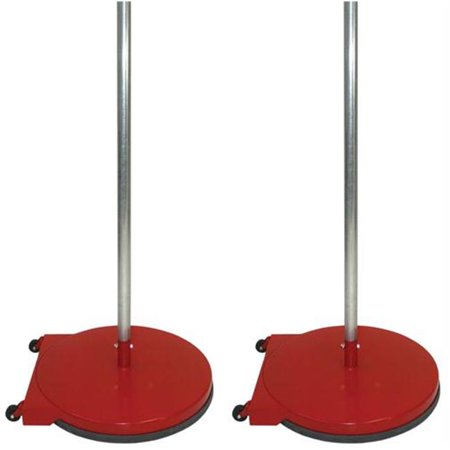 - Olympia Sports GY315M 24 inch Dome Base Game Standards with Wheels - Red