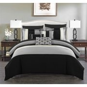 Chic Home Hester 10 Piece Comforter Set Bed in a Bag Bedding