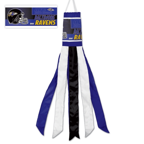 Baltimore Ravens Official NFL 57 inch  Windsock Flag by Wincraft