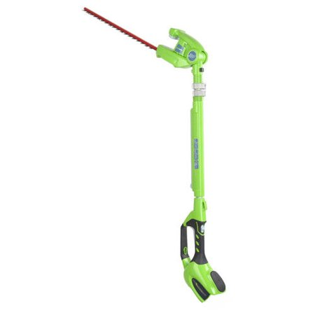 Greenworks 20-Inch 40V Cordless Pole Hedge Trimmer, Battery Not Included 22342