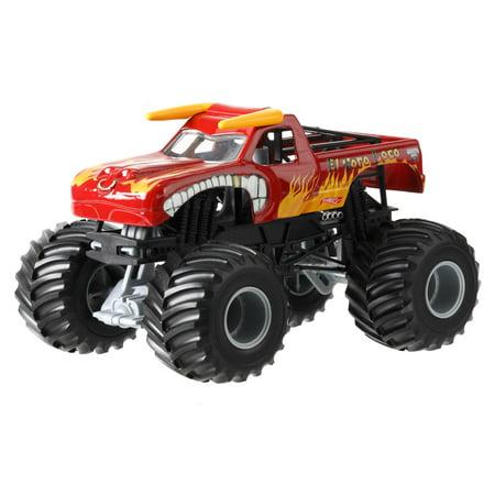 Hot Wheels Monster Jam 1 24 El Toro Loco Die Cast Vehicle
