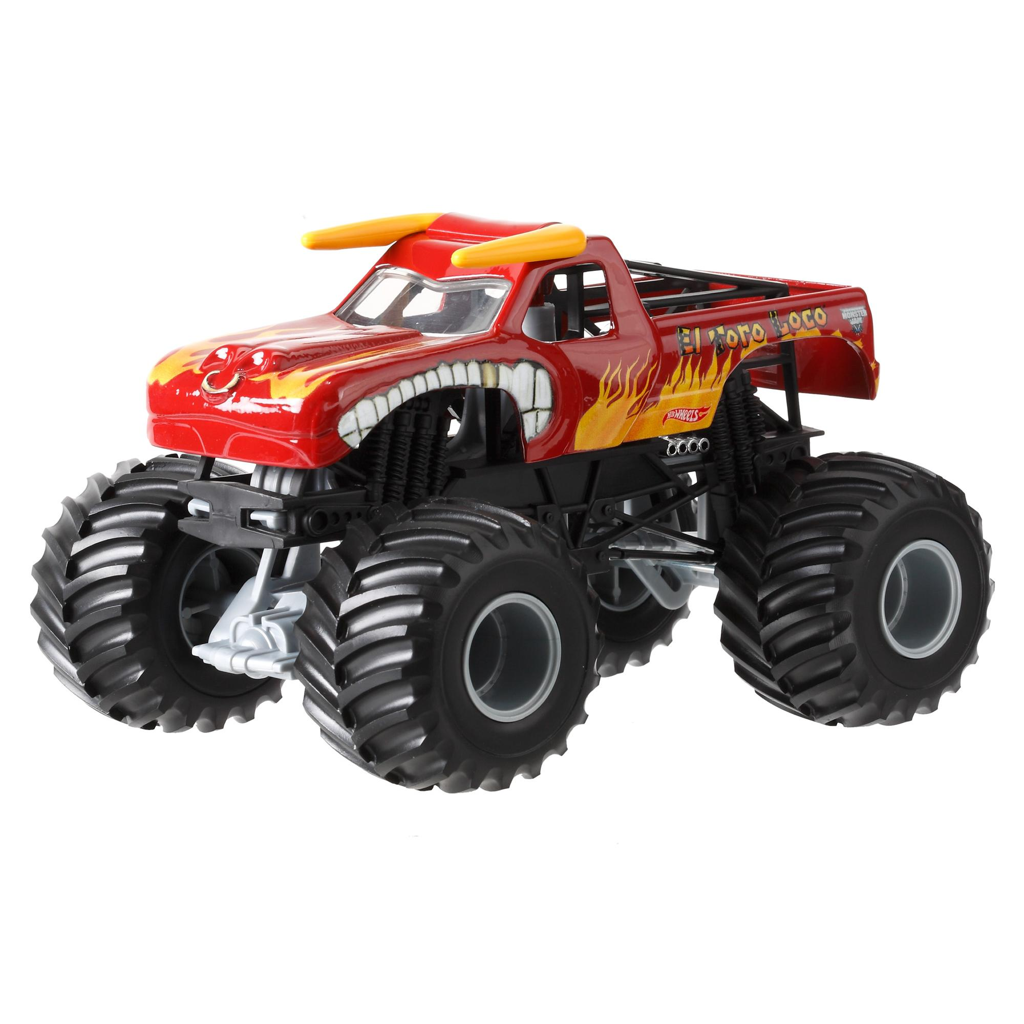 Hot Wheels Monster Jam 1:24 El Toro Loco Die-Cast Vehicle