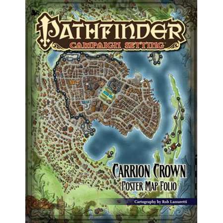 Pathfinder Campaign Setting: Carrion Crown Poster Map Folio (Campaign Map Packs)