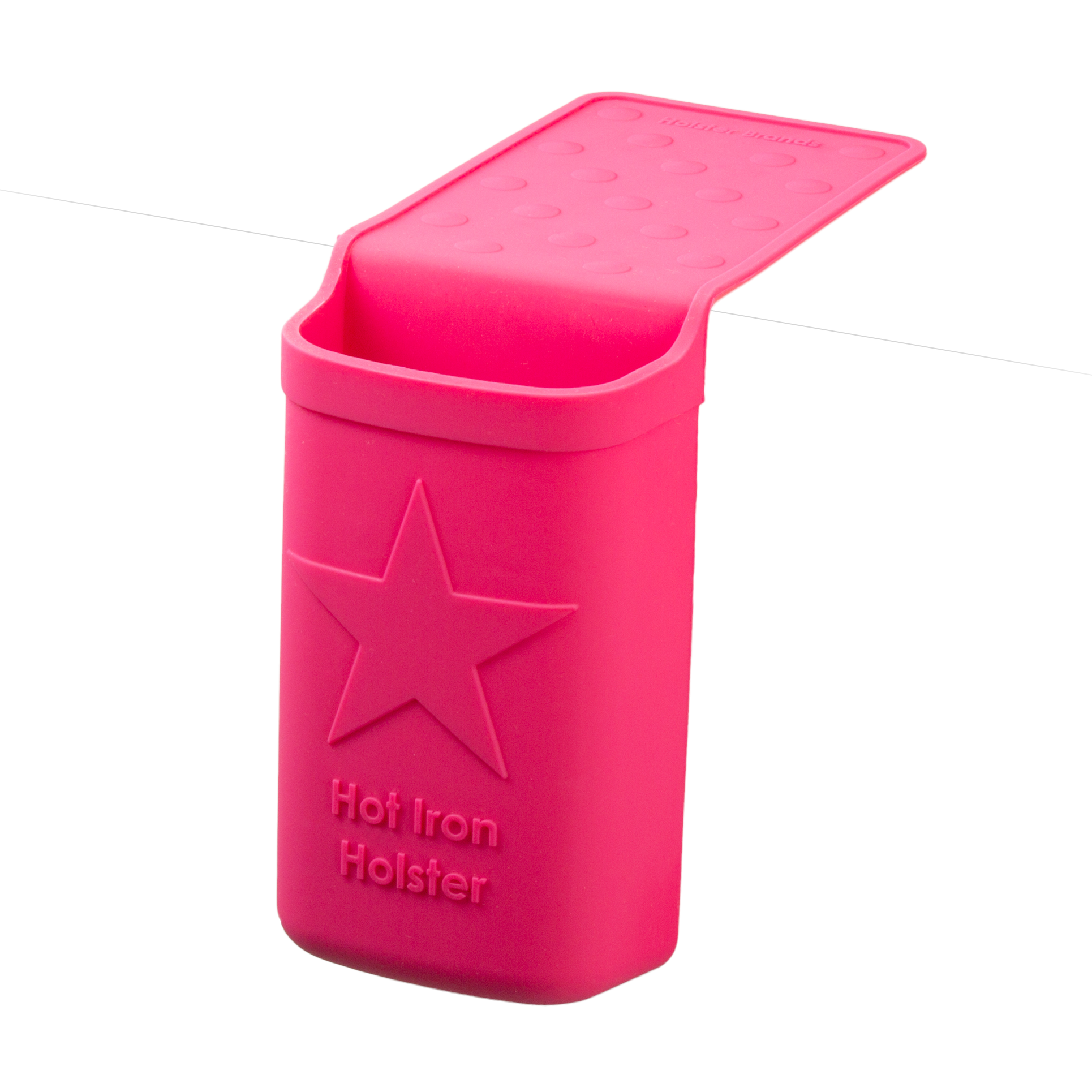 Holster Brands Heat Resistant Silicone Holder for Flat Irons, Curling Irons, Straighteners