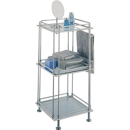 Neu Home 3-Tier Bath Rack, Chrome Finish