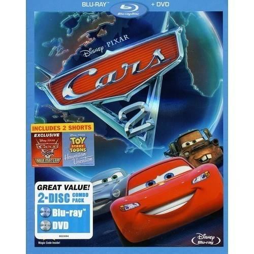 Cars 2 (2-Disc) (Blu-ray   DVD) (Blu-ray Amaray) (Widescreen)