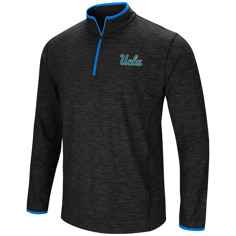 Mens UCLA Bruins Quarter Zip Wind Shirt - S