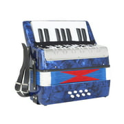 Mini Kids Accordion Durable Accordion Educational Musical Instrument Toy for Amateur Beginner Best Gift