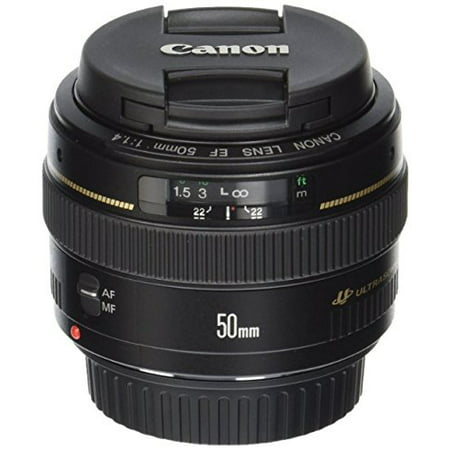 Canon EF 50mm f/1.4 USM Standard & Medium Telephoto Lens for Canon SLR Cameras - Fixed International Version (No