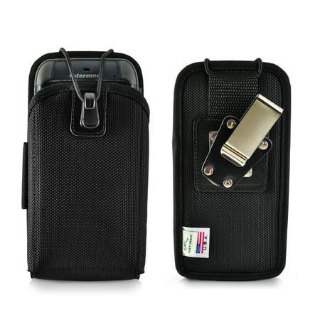 "Turtleback Mobile Computer Case made for Intermec CN70 Touch Computer Nylon Holster, 2 Belt Clips (Metal Clip & Belt Loop) Mobile Scanner Holder Fits devices 6 3/4""X 3 1/4""X 1 1/2"""