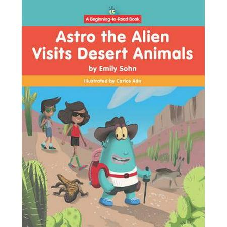 Astro the Alien Visits Desert - Desert Animals Adaptations