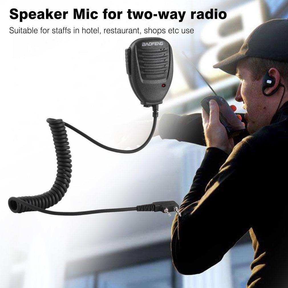 Baofeng 2-Way Radio Speaker Mic for Baofeng BF-888S UV-5R UV-5RA UV-5RB UV-5RC UV-5RE by Generic