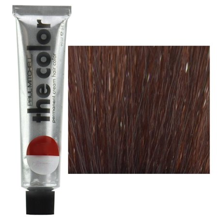 Red Hair Cream (Paul Mitchell The Color Permanent Cream Hair Color 3oz 5RB Light Red Natural Brown)