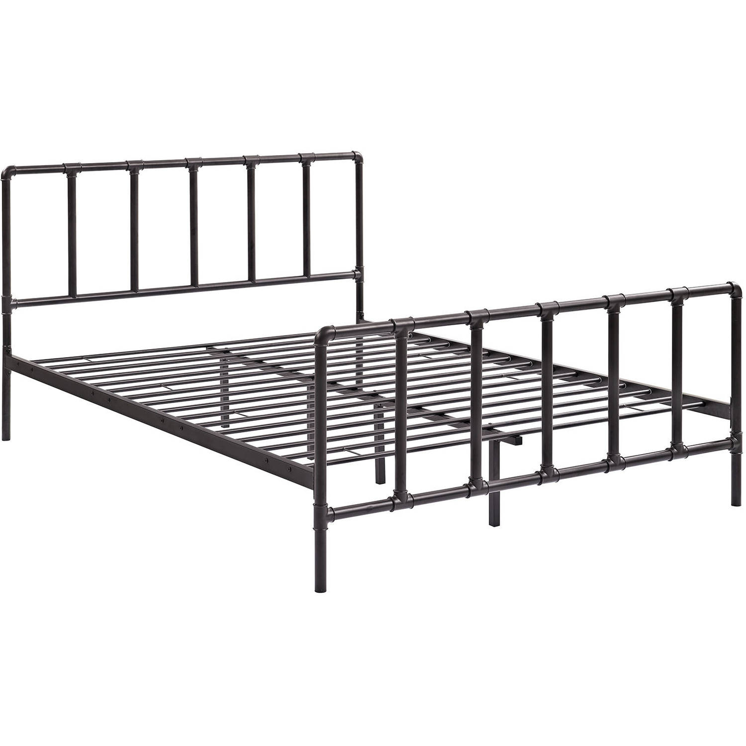 Modway Dower Queen Stainless Steel Platform Bed, Multiple Colors