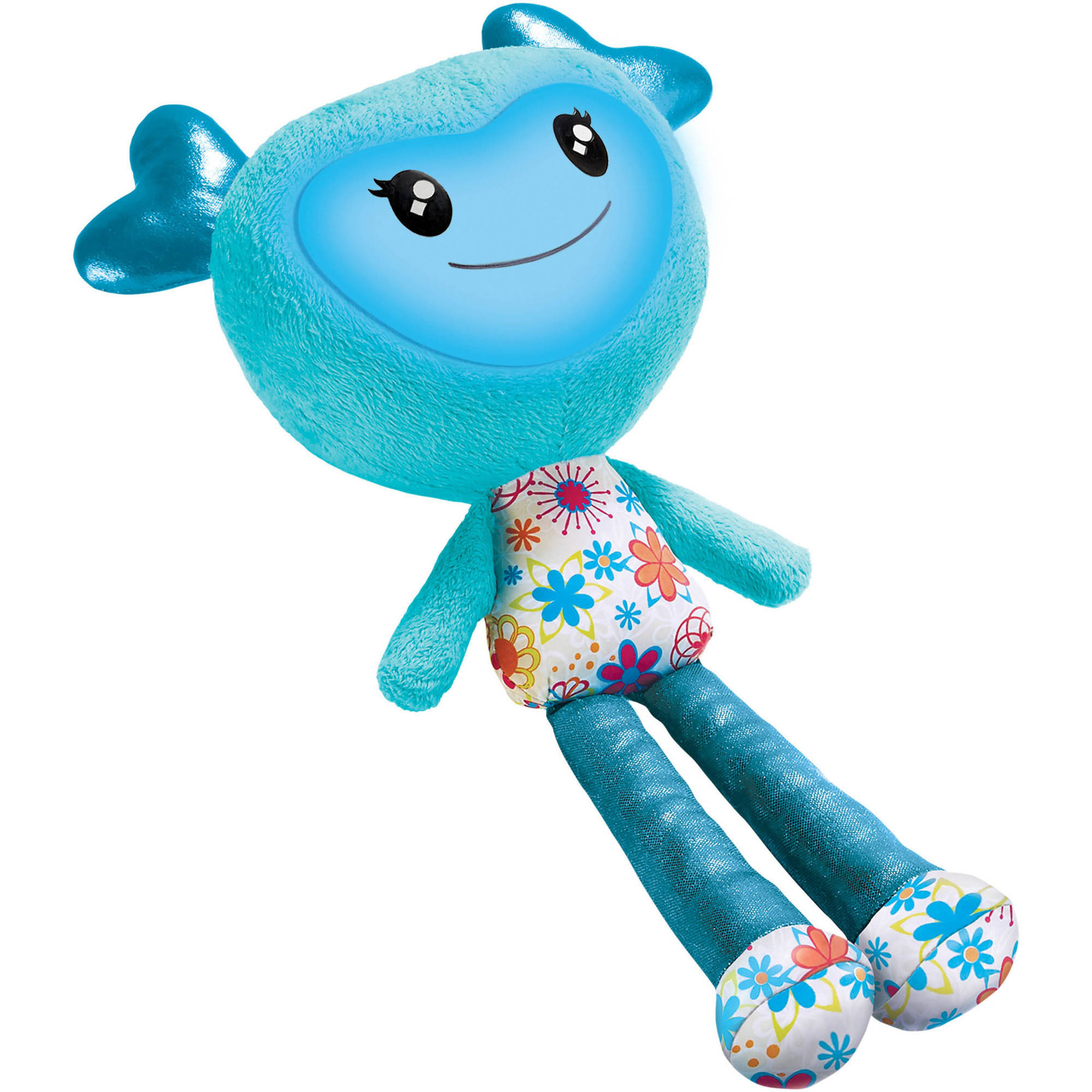 Brightlings Interactive Plush, Teal, 15""
