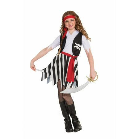 Girls Buccaneer Costume - Buccaneer Babe Costume