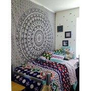 The Boho Street Wall Hanging Twin Bohemian Elephant Tapestry Bedspread