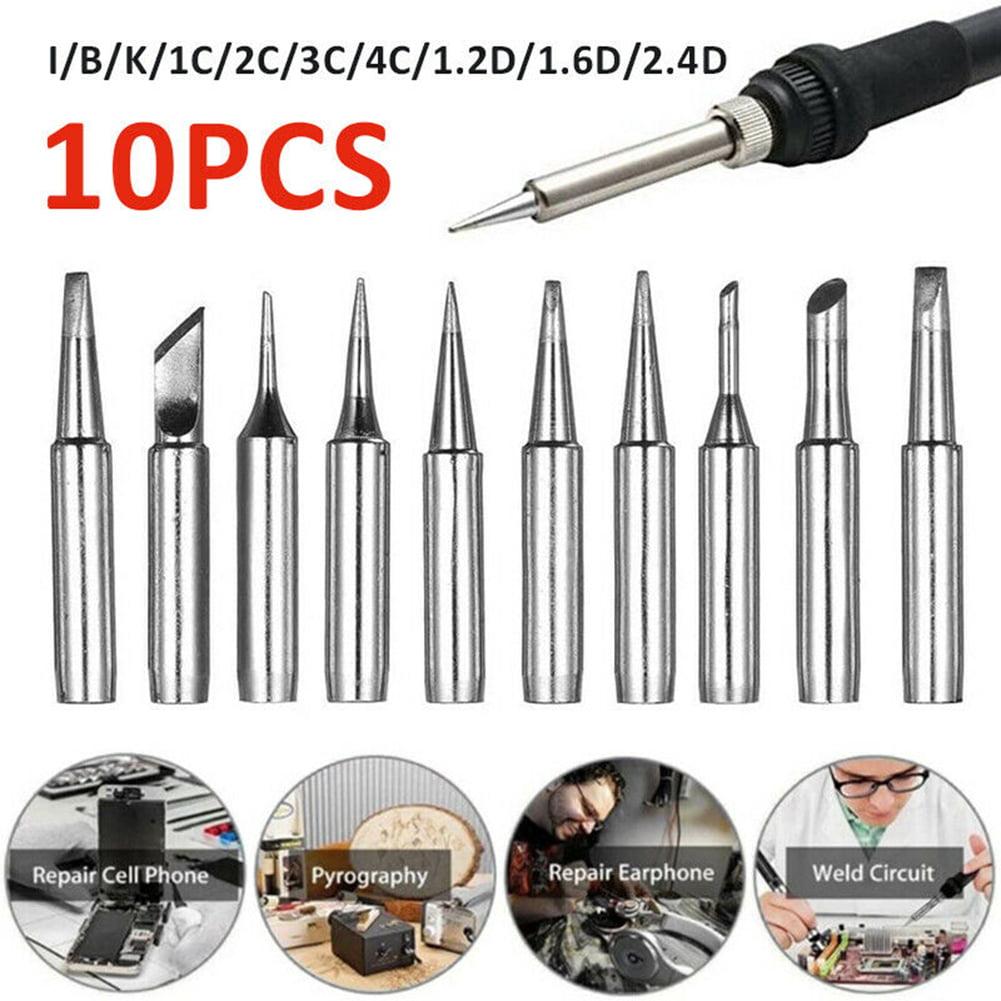 10PCS Solder-Screwdriver Iron Tip 900M-T For Hakko Soldering Rework Station Tool