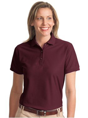 c4a902f4ecd7a Product Image Port Authority Women s Classic Knit Collar Polo Shirt