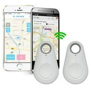 Spy Mini GPS Smart Tracking Finder Auto Car Pets Kids Tracker Alarm Key Track Device White