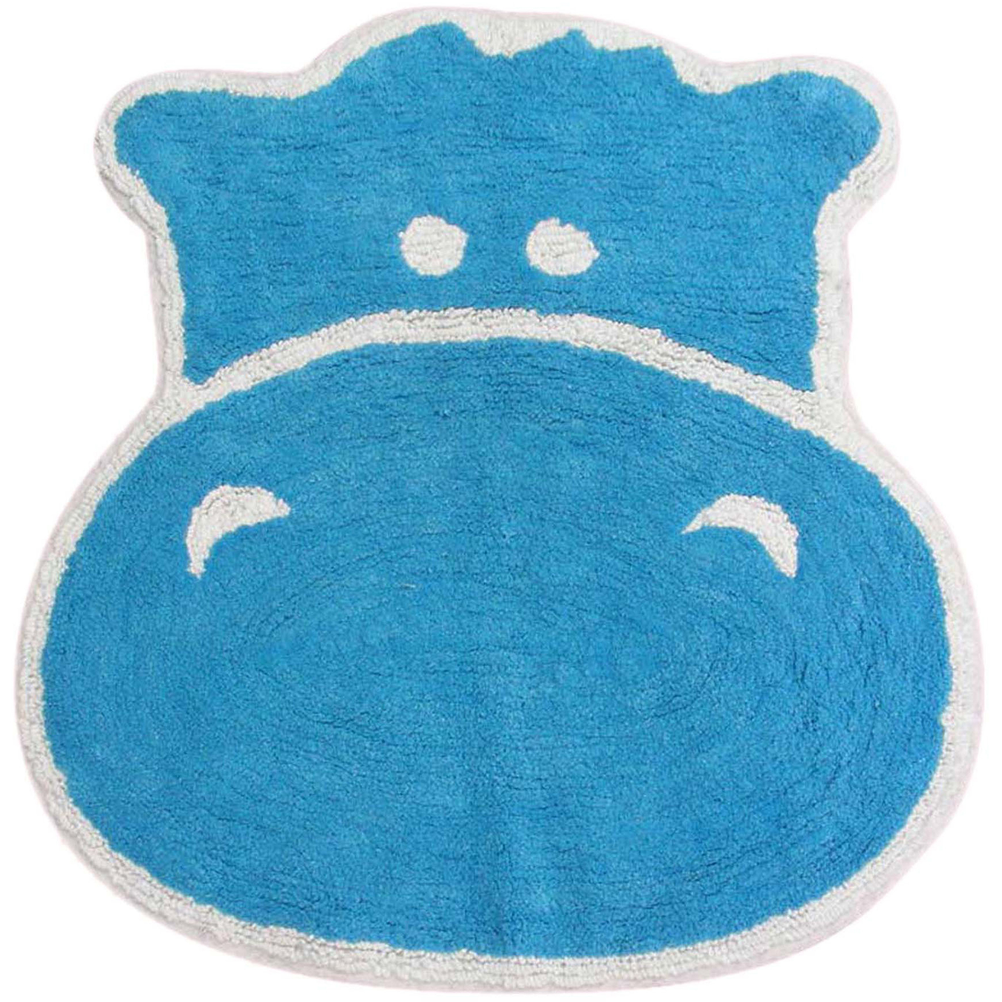Allure Hippo Bath Rug