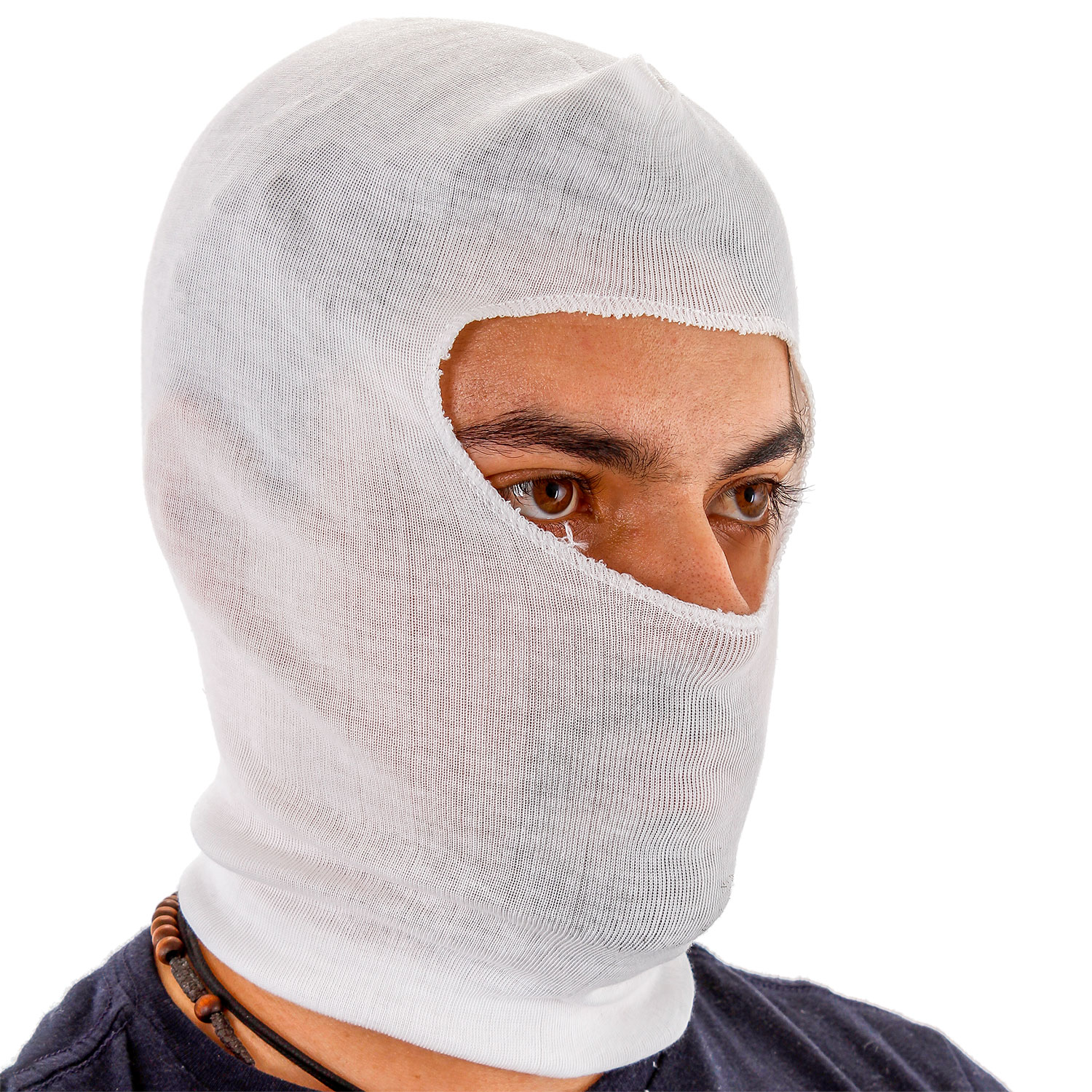 12 Painters Spray Socks, Stretch Cotton Head Hood Mask, Protect Face Neck Paint